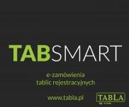 TABSMART - nowa aplikacja do zamawiania tablic rejestracyjnych